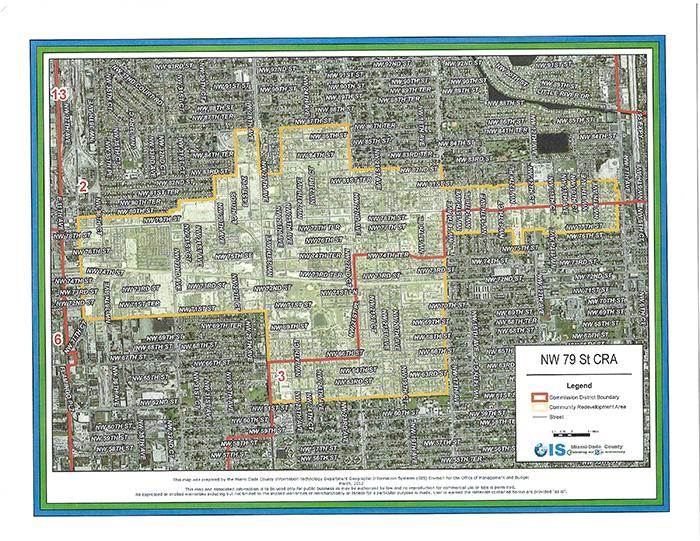 CRA Area-Target Area Map